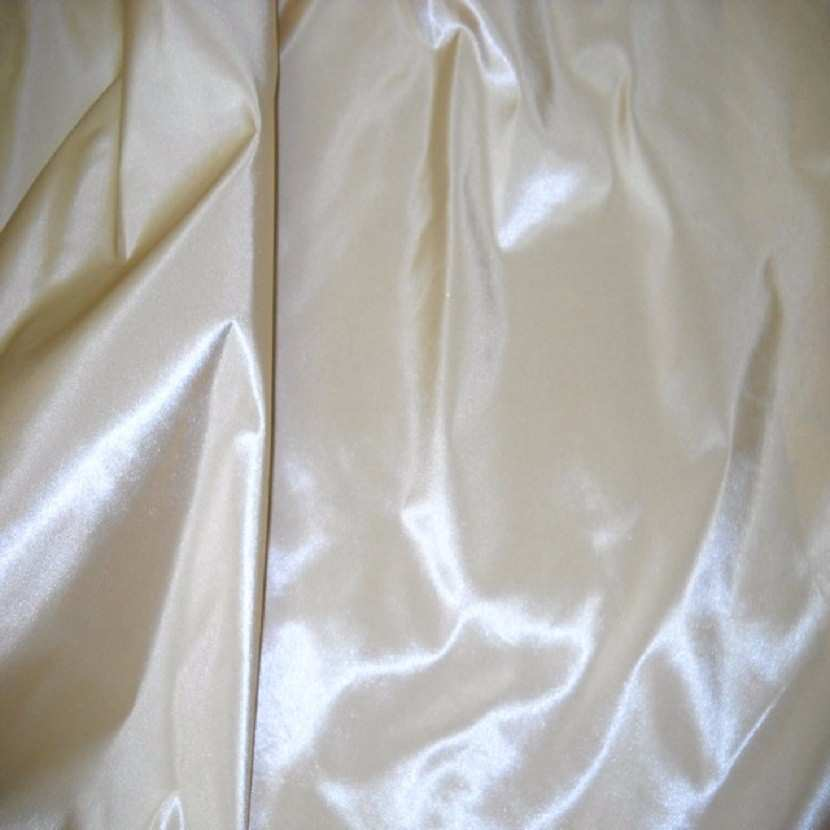 Taffetas changeant beige dore reflets blancs5