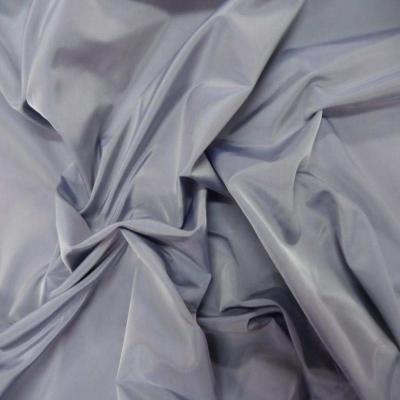 Taffetas changeant gris reflets bleu