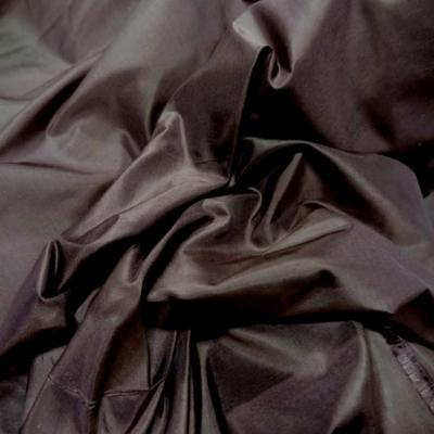 Taffetas de soie 100 marron