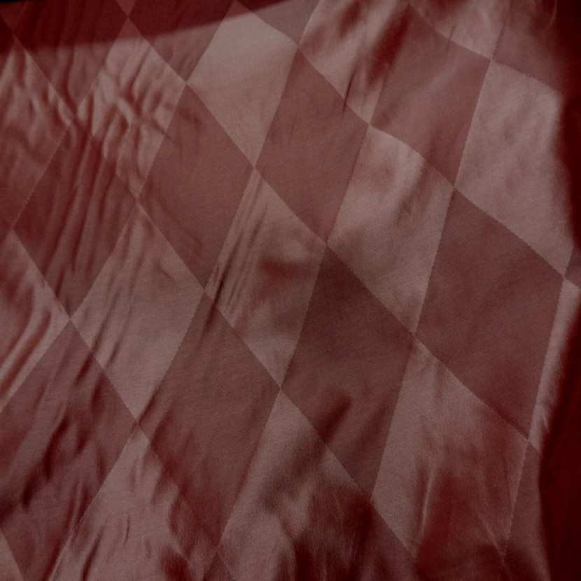 Taffetas de soie dessin arlequin en 1 45m de l