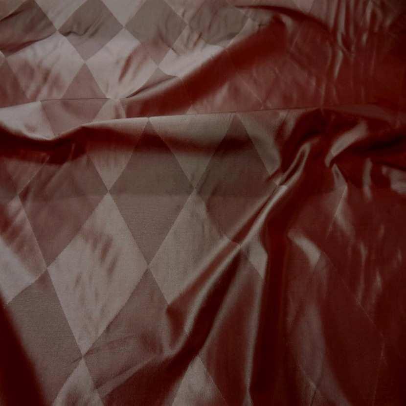 Taffetas de soie dessin arlequin en 1 45m de l7