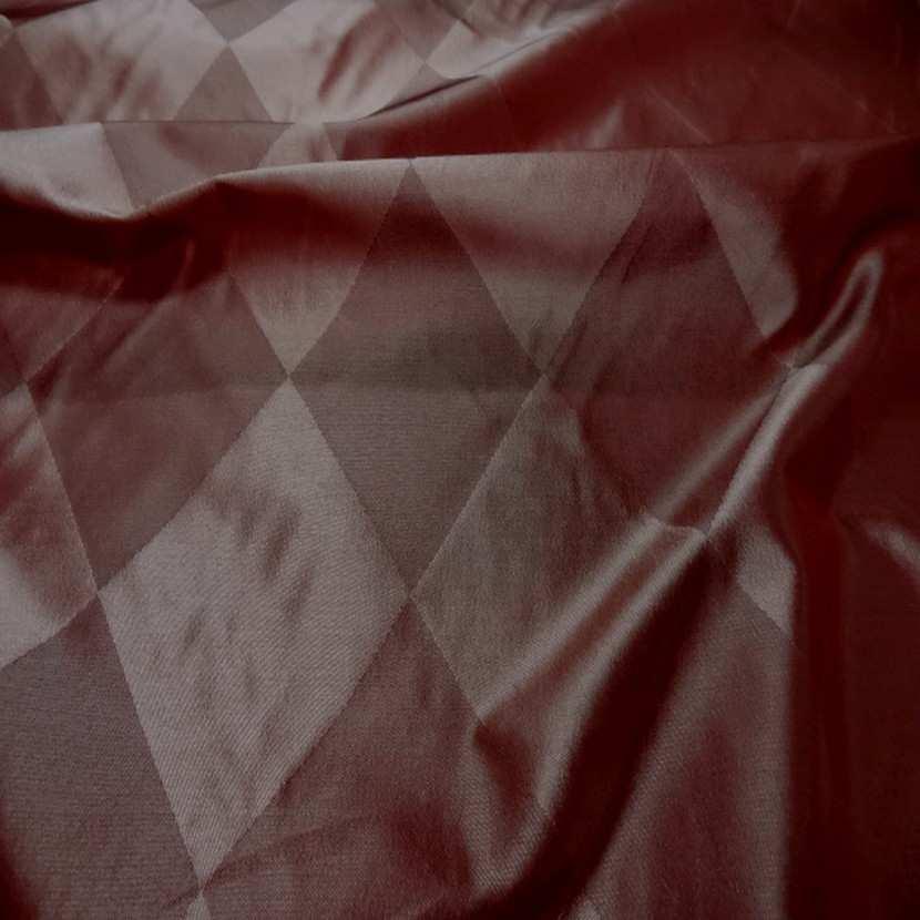 Taffetas de soie dessin arlequin en 1 45m de l8