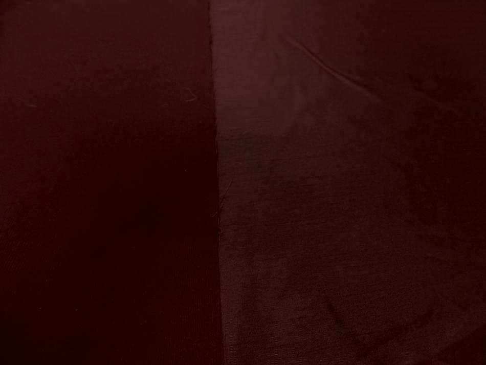 Taffetas double suedine ton rouge cerise09