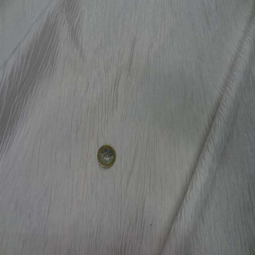 Taffetas froisse plisse blanc casse3