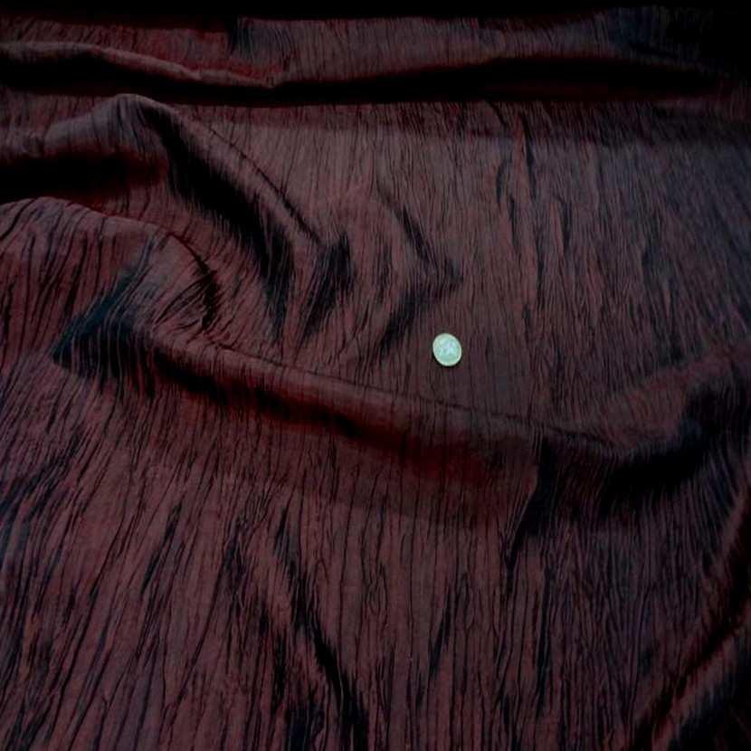 Taffetas froisse plisse rouge bordeaux 8