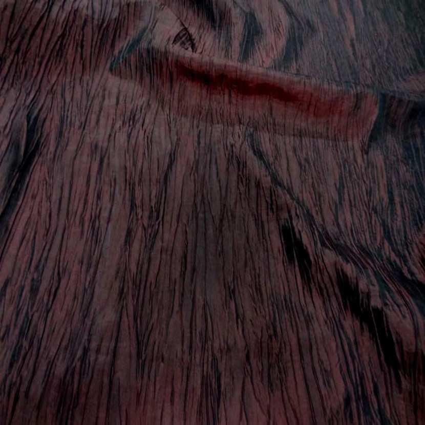 Taffetas froisse plisse rouge bordeaux