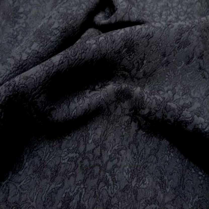 Taffetas jacquard gris anthracite5