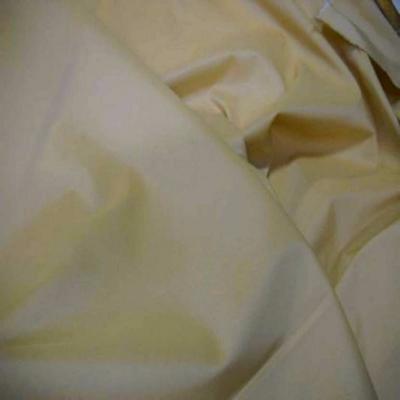 Taffetas lycra souple beige jaune reflets blanc9