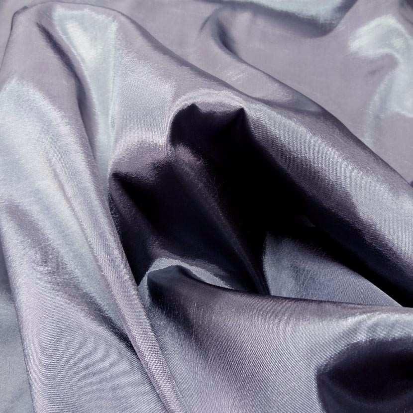 Taffetas souple gris changeant gris noir4