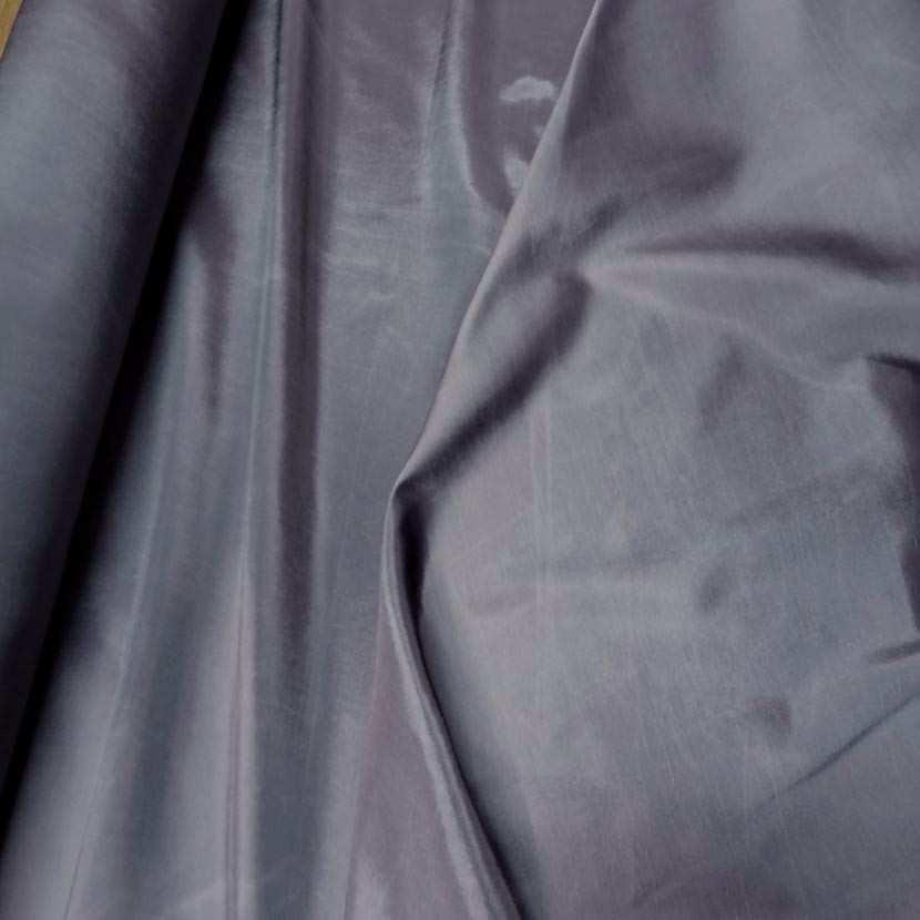 Taffetas souple gris changeant gris noir9