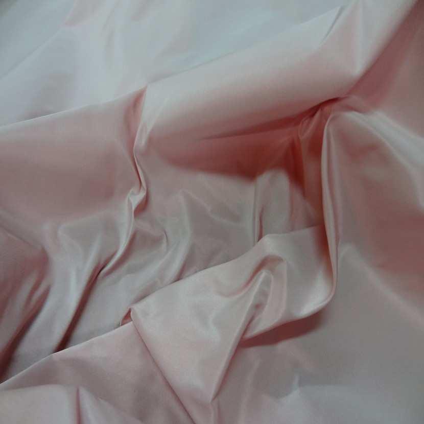 Taffetas tisse fils rouge orange et blanc0