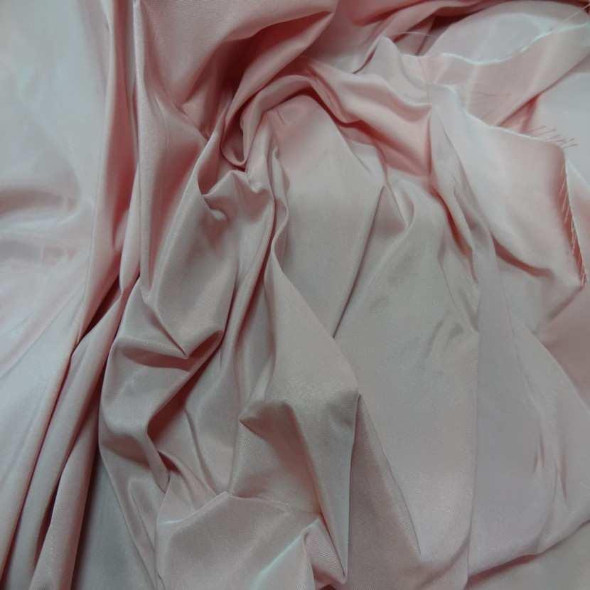Taffetas tisse fils rouge orange et blanc1