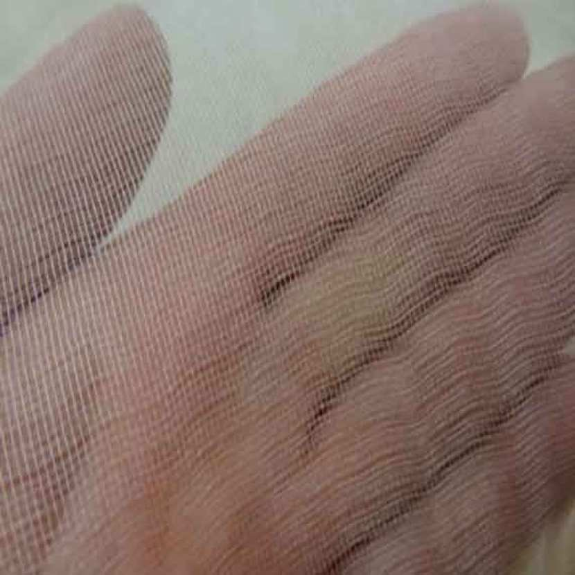 Tarlatane de soie 100 beige clair en 1 35 m l7
