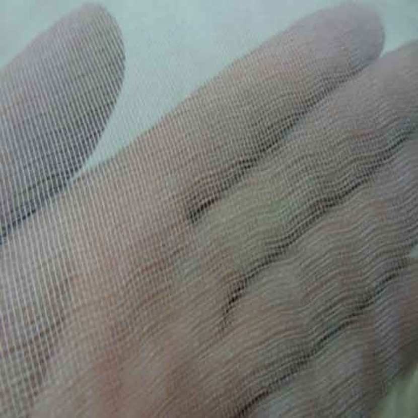 Tarlatane de soie 100 blanc casse en 1 35 m l 6