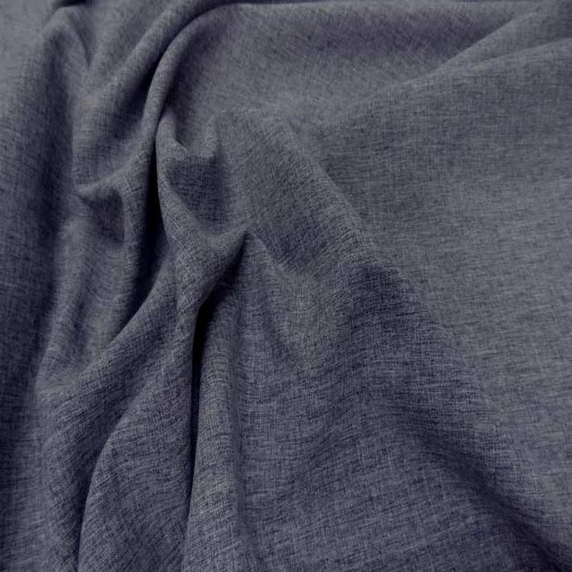 Tergal fin gris bleu chine