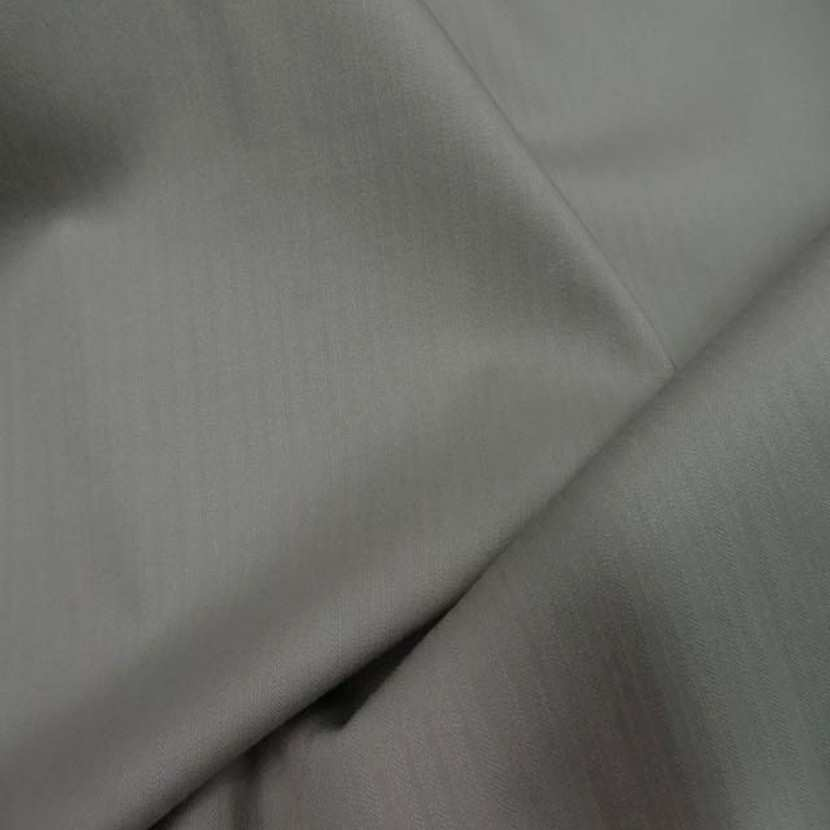 Tissu coton lycra dans la largeur ton beige kaki taupe