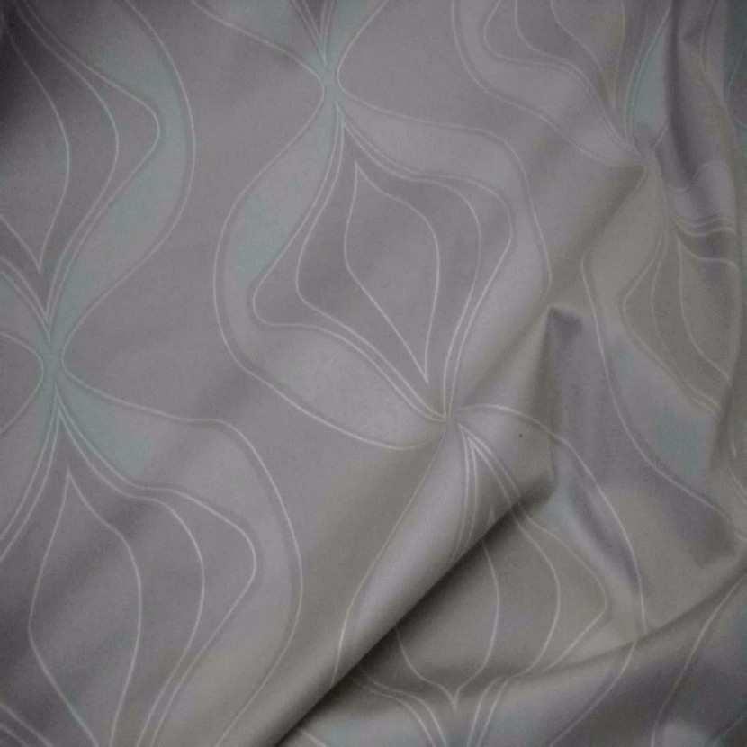 Tissu coton ton beige gris