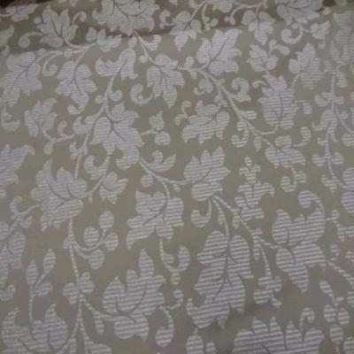 Tissu d ameublement beige a motifs devore velours7