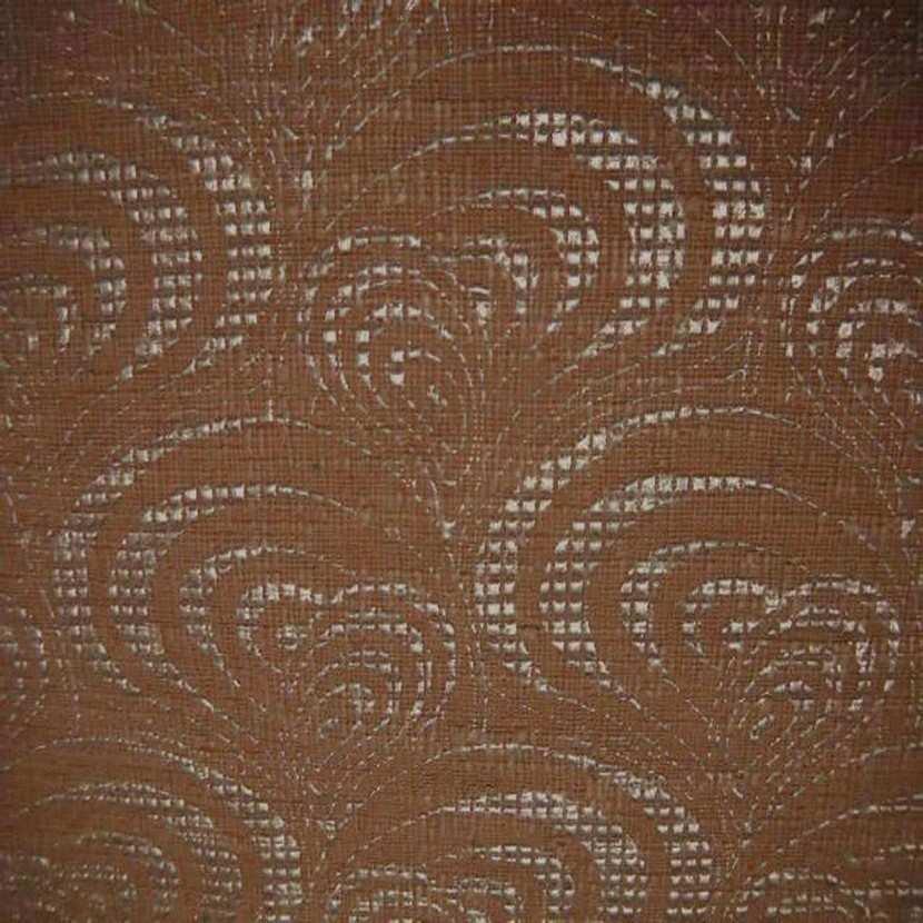 Tissu d ameublement epais ton caramel a motifs ecailles caramel4