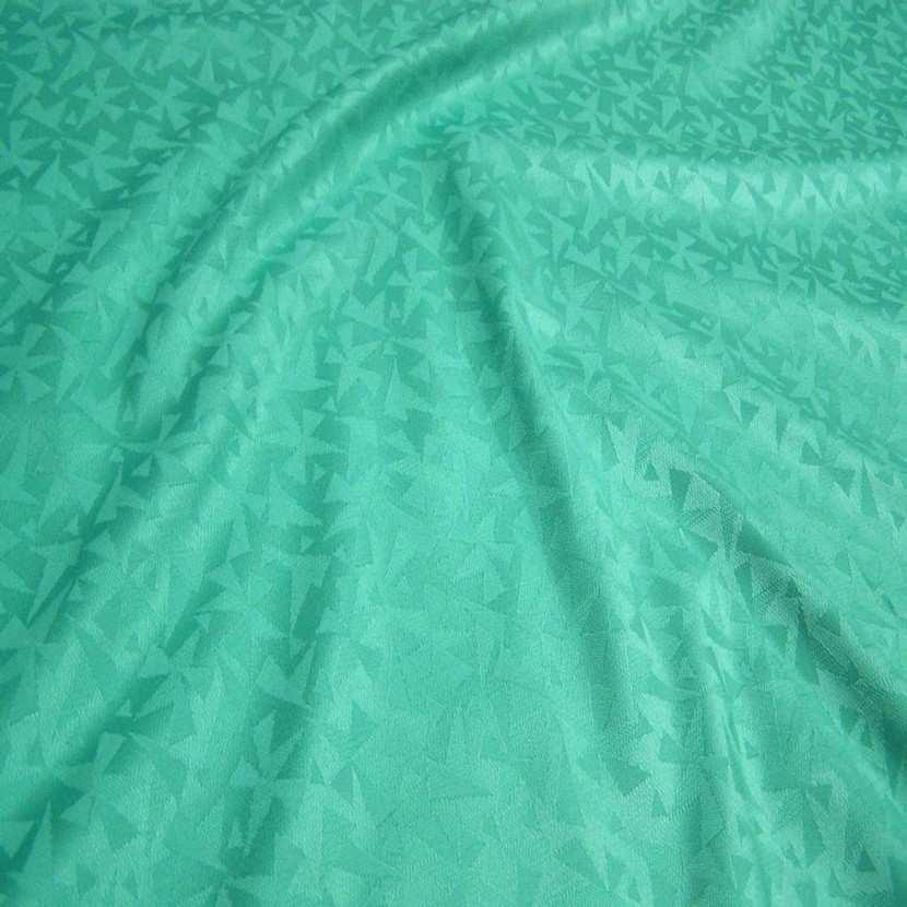 Tissu d ameublement ton vert2