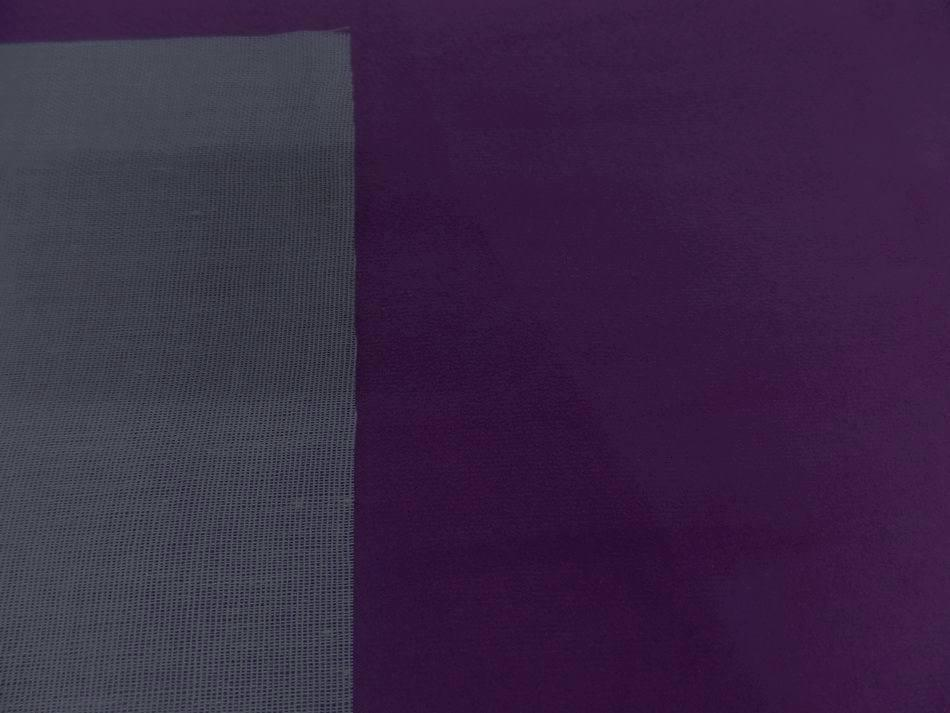 Tissu imitation daim prune style alcantara