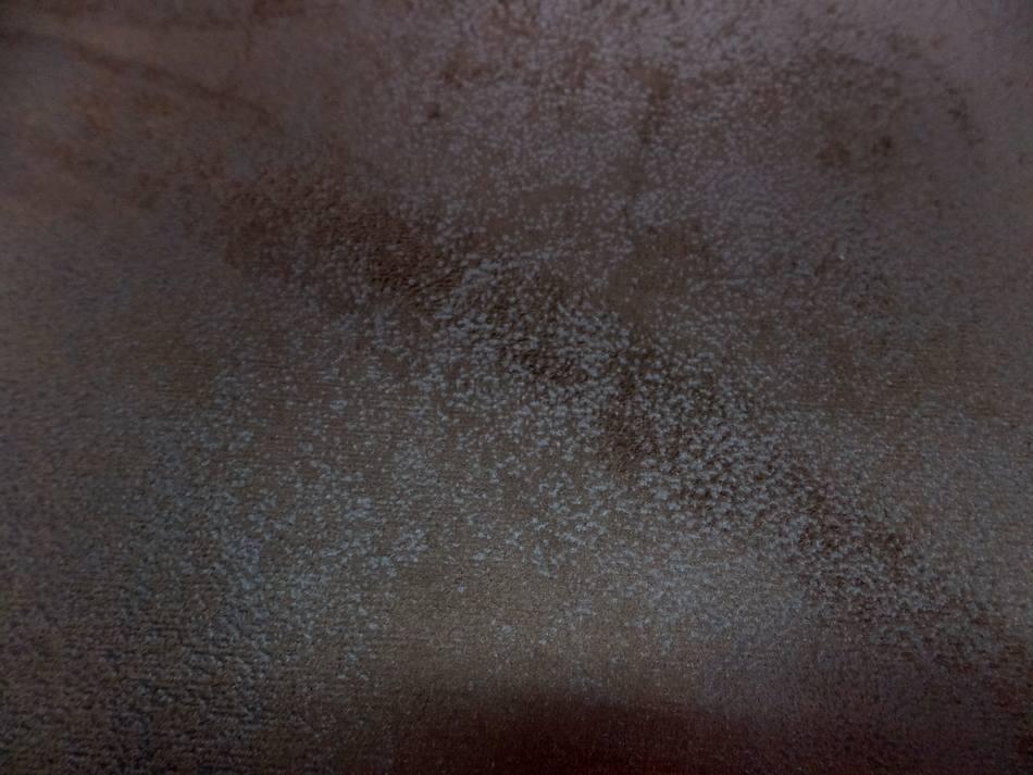 Tissu imitation vieux cuir ton marron