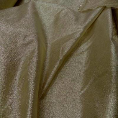 Tissu lame dore en 1 45m de large