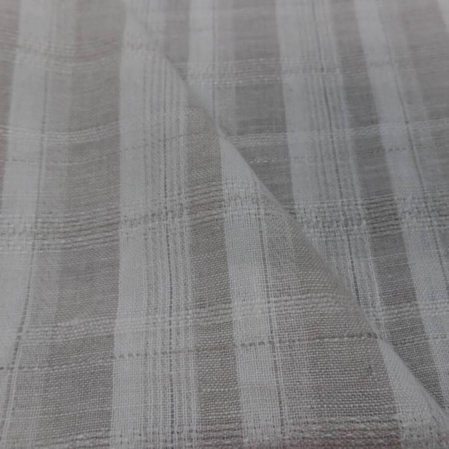tissu mousseline de soie 100% blanche pas cher