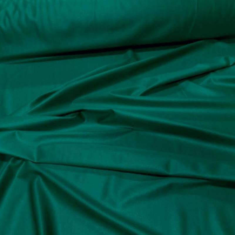 Tissu lycra extensible dans le 2 sens vert effet mouillé