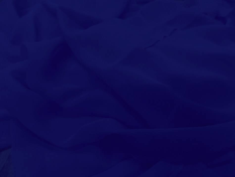 Tissu mousseline de soie bleu roi