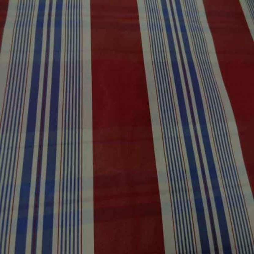 Tissu ottoman bordeaux a rayures blanc bleu8