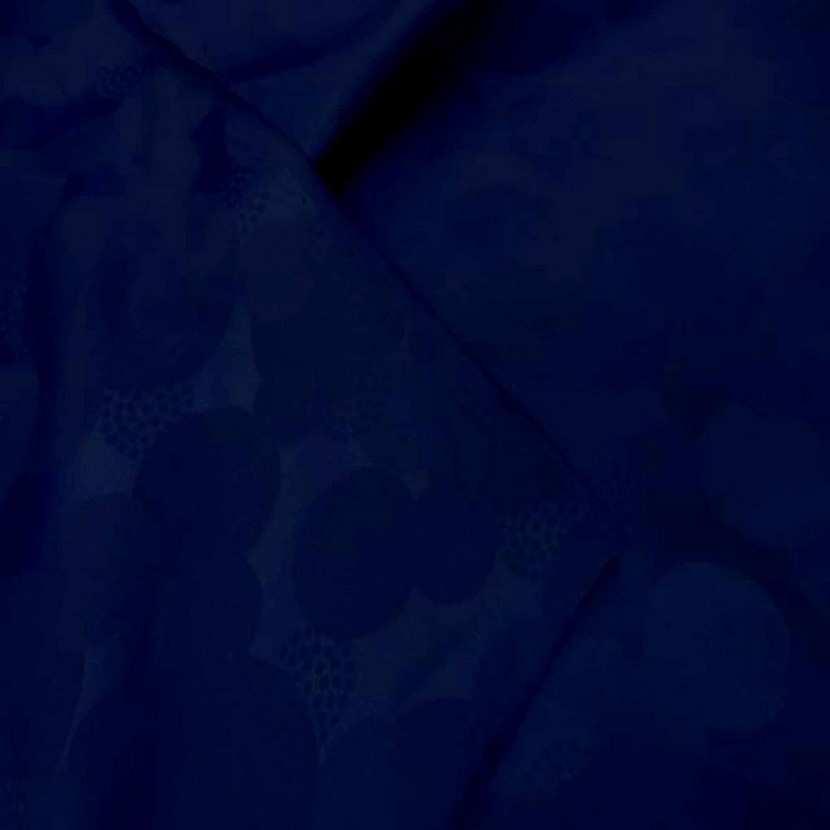 Tissu satin faconne ton bleu8