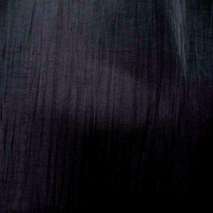 Tissu souple plisse permanent noir07