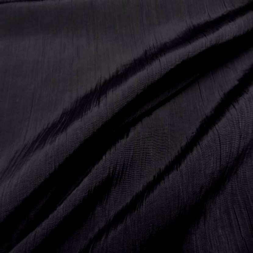 Tissu souple plisse permanent noir6