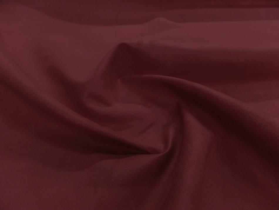 tissu style alcantara imitation daim bordeaux