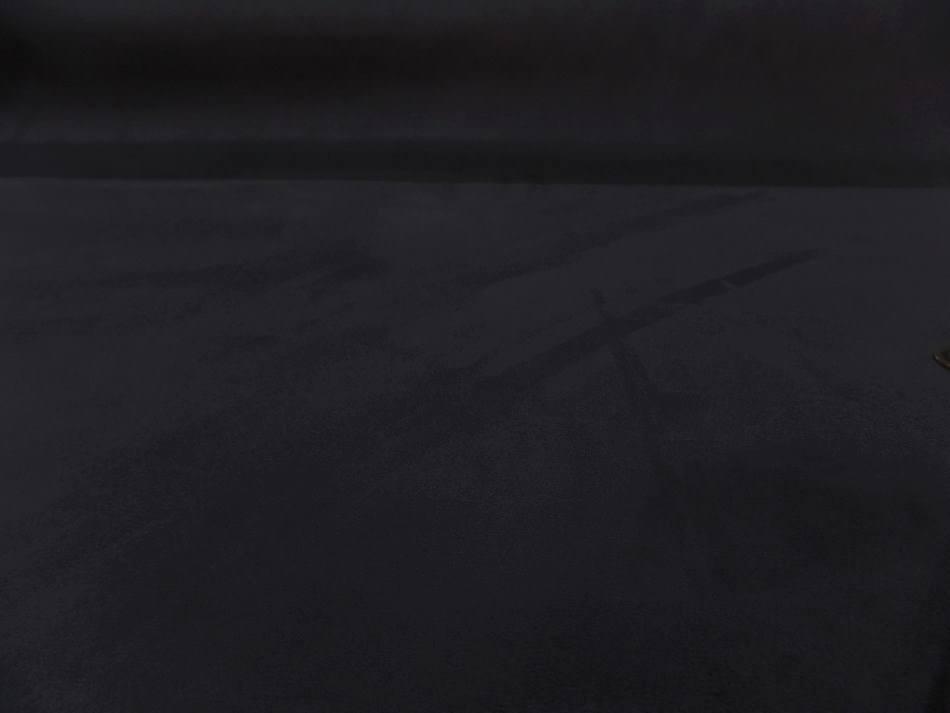 Tissu style alcantara imitation daim noir gris 2