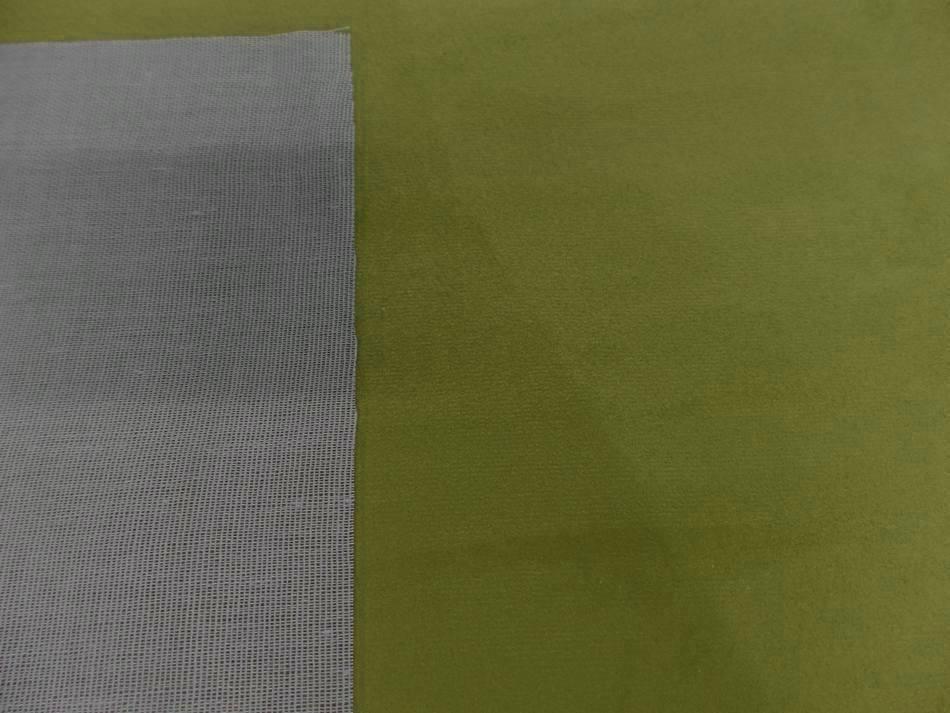 Tissu style alcantara imitation prune olive5