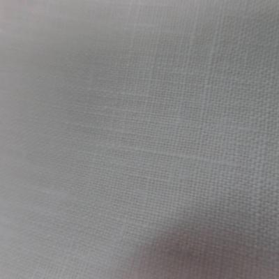 Tissu toile de lin 100 ton blanc casse en ligne