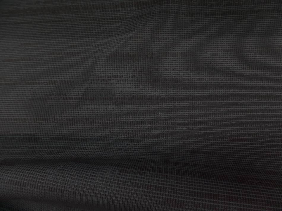 Tissu bord cote ton taupe rayé marseille