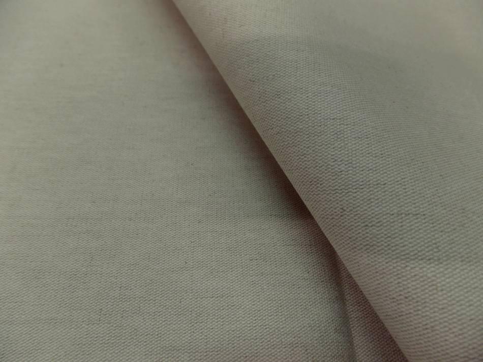 tissu Toile bizonné supérieure calandrée a chaud 300 gr m² en 2.80m beige naturel