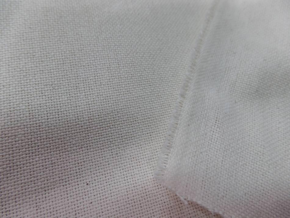 Toile coton natte ecrue 310gr m en 2 80m de large05