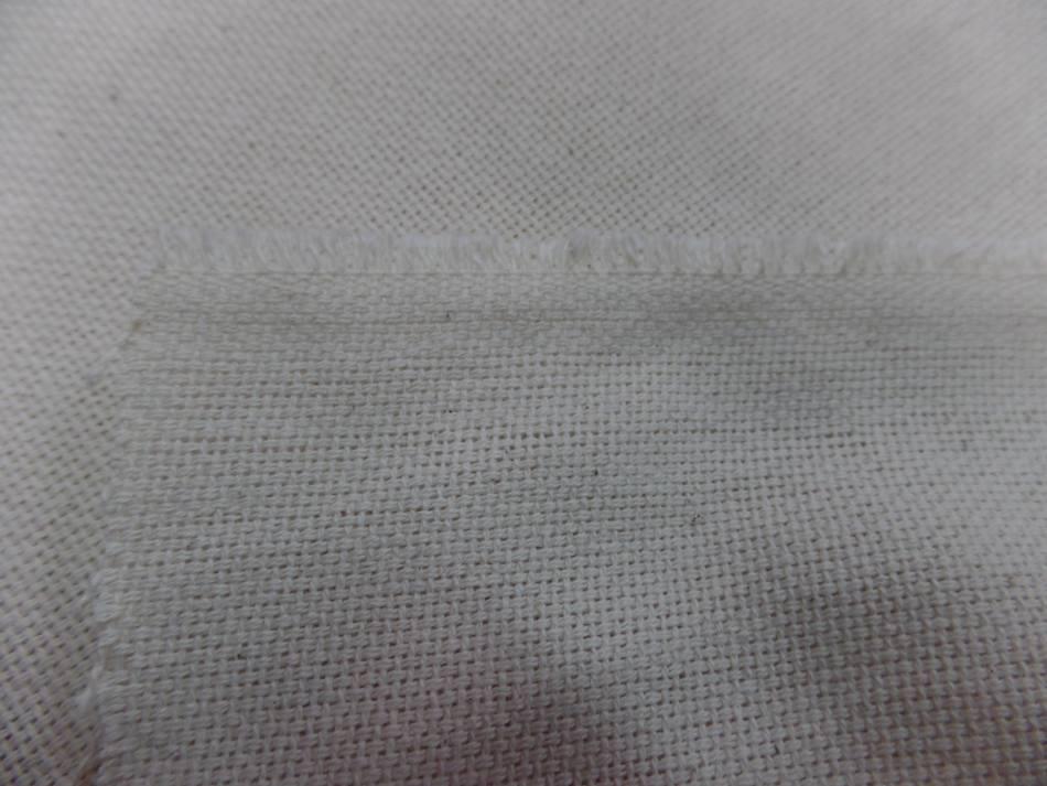 Toile coton natte ecrue 310gr m en 2 80m de large2