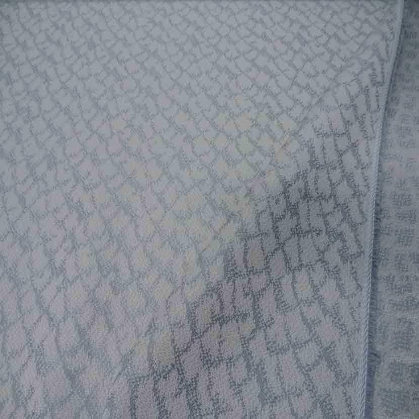 Toile d ameublement blanc gris7