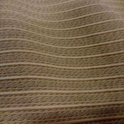 vente de toile d ameublement doré façonné bandes