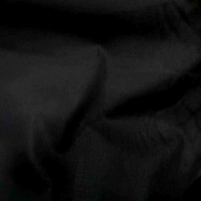 Toile de coton noire