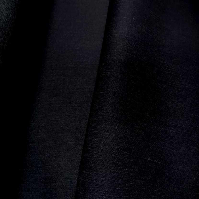Toile de jean bleu nuit noir 0