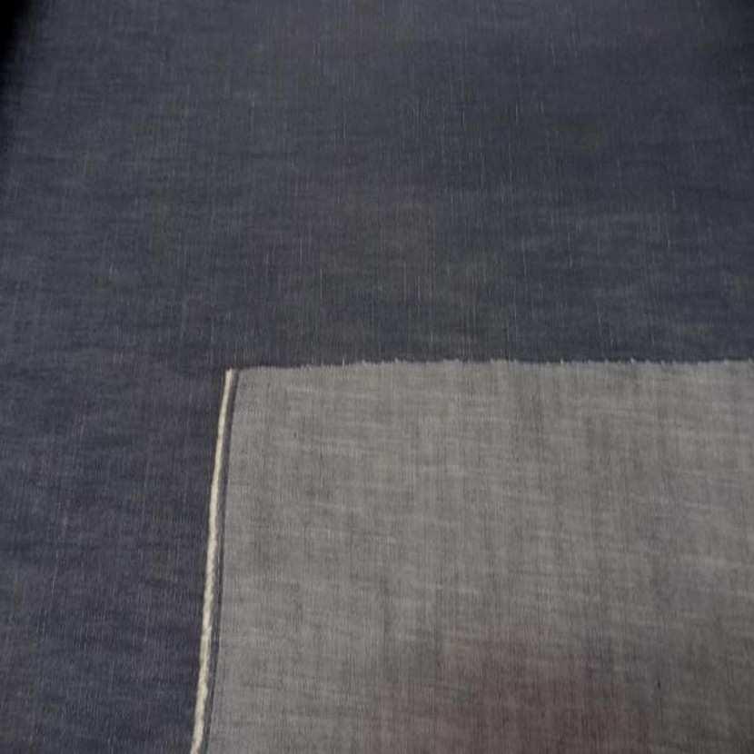 Toile de jean grise