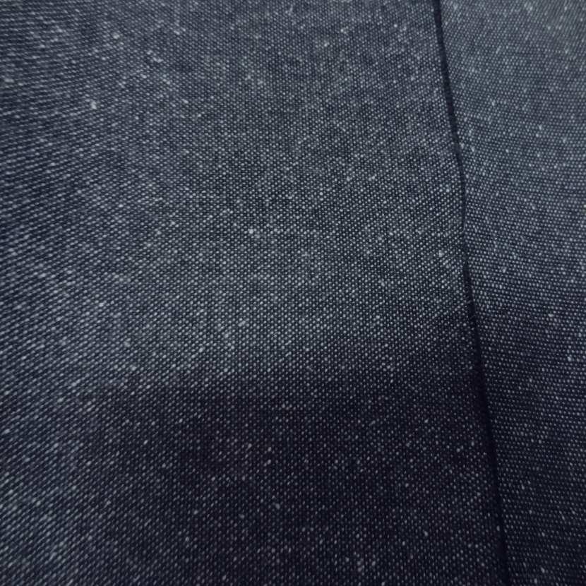 Toile de jean legere bleu facon tweed88