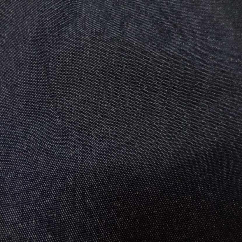 Toile de jean legere gris facon tweed2
