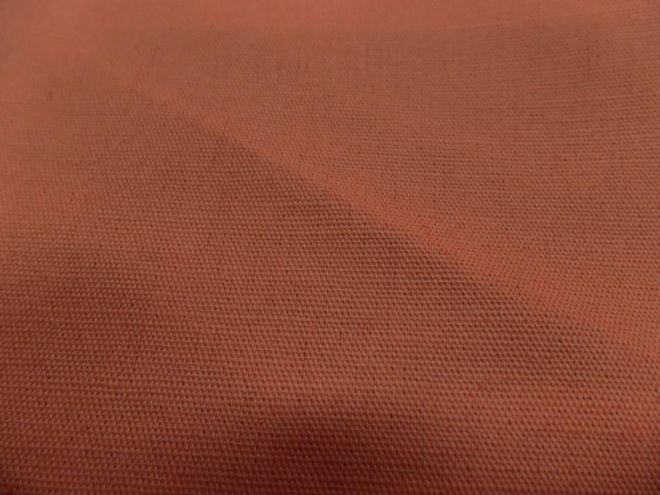 Vente de toile de lin 100 % orange abricot PAS CHER